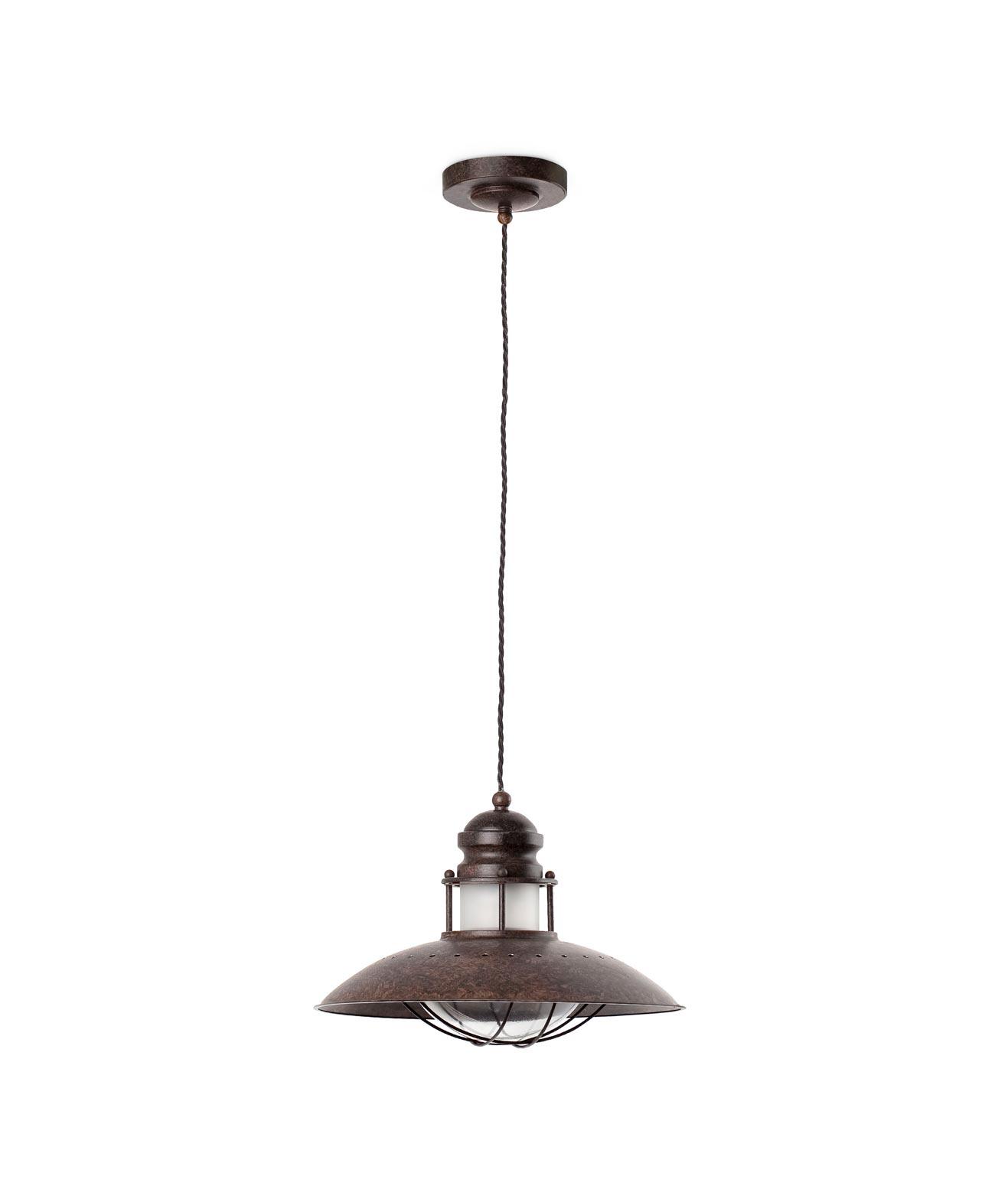 Lámpara de techo WINCH marrón