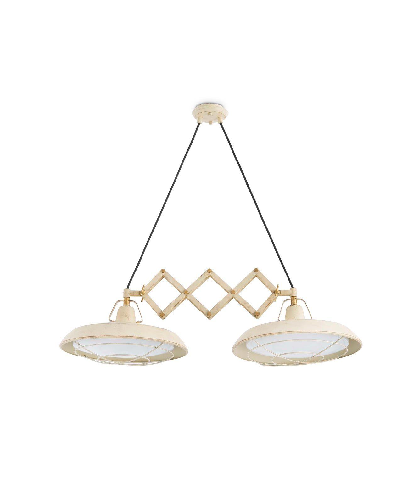 Lámpara extensible LED blanco PLEC 2 luces