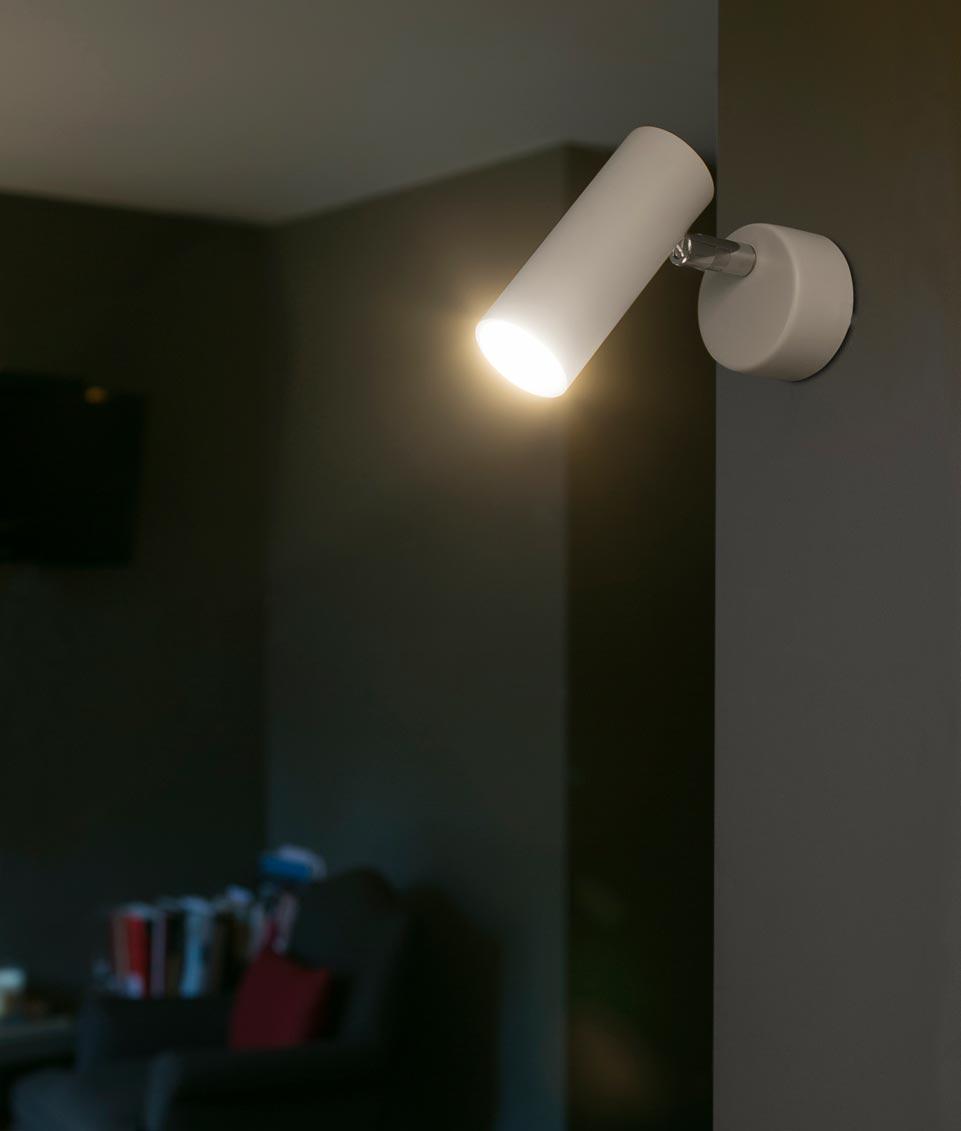 Lámpara foco LED blanco ORA ambiente