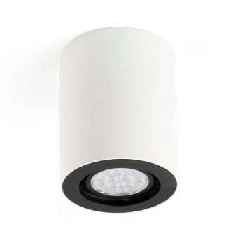 Lámpara plafón NAN blanco