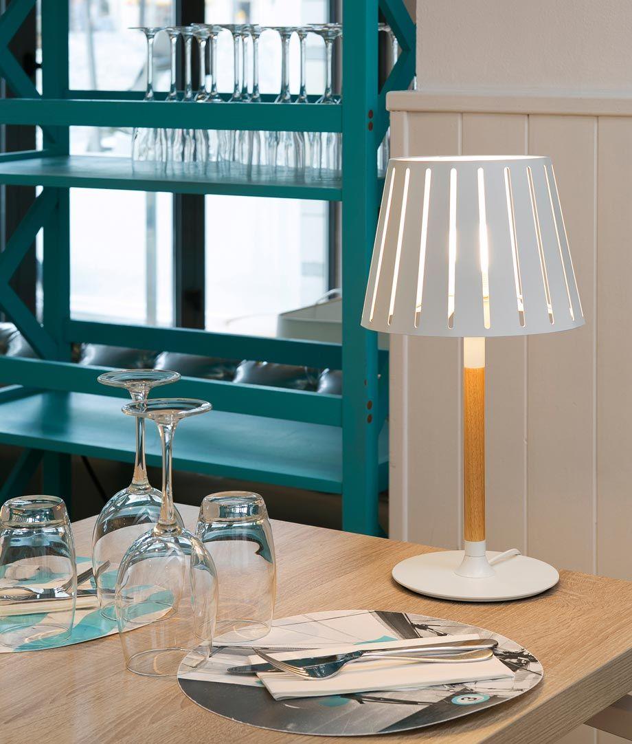 Lámpara sobremesa blanca MIX ambiente