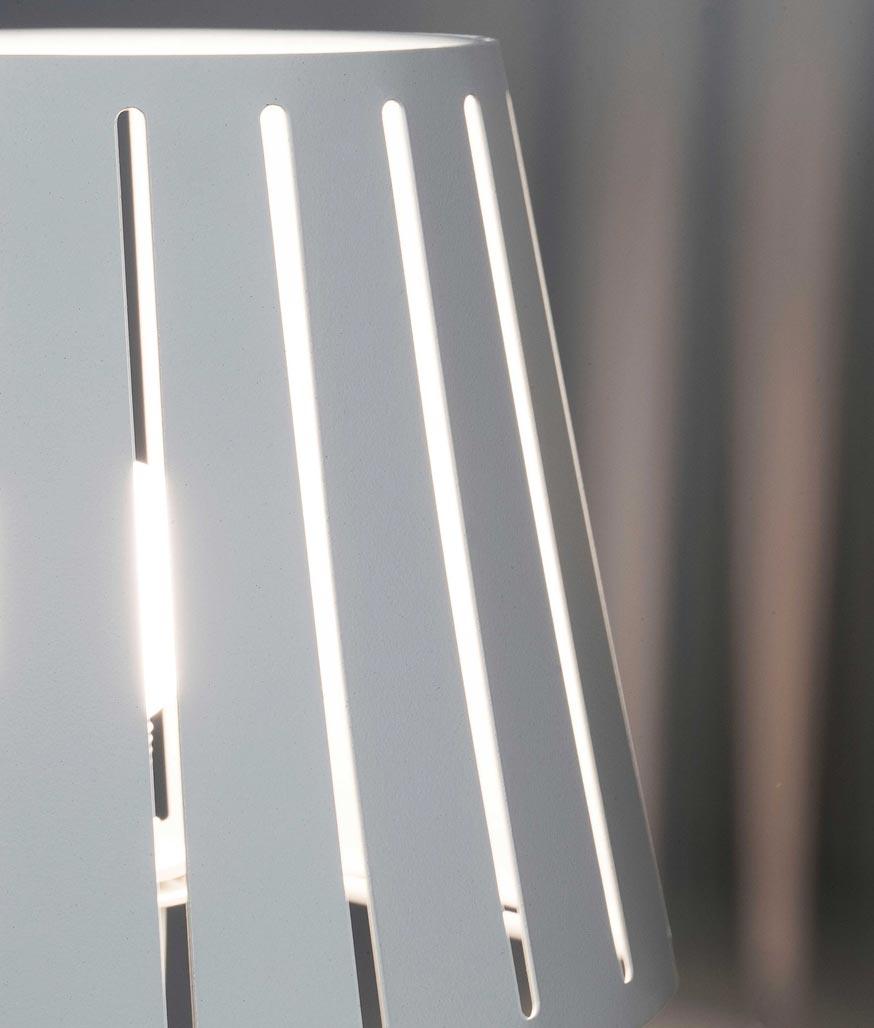 Lámpara sobremesa blanca MIX detalle