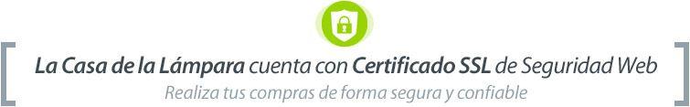 Certificado SSL de confianza on-line en La Casa de la Lámpara