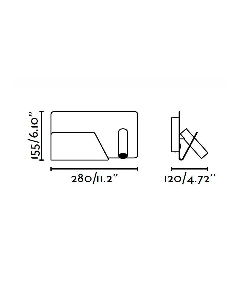 Medidas aplique blanco izquierda SUAU USB