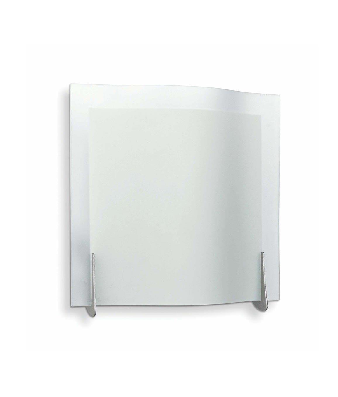 Aplique de pared 1 luz OLA níquel mate