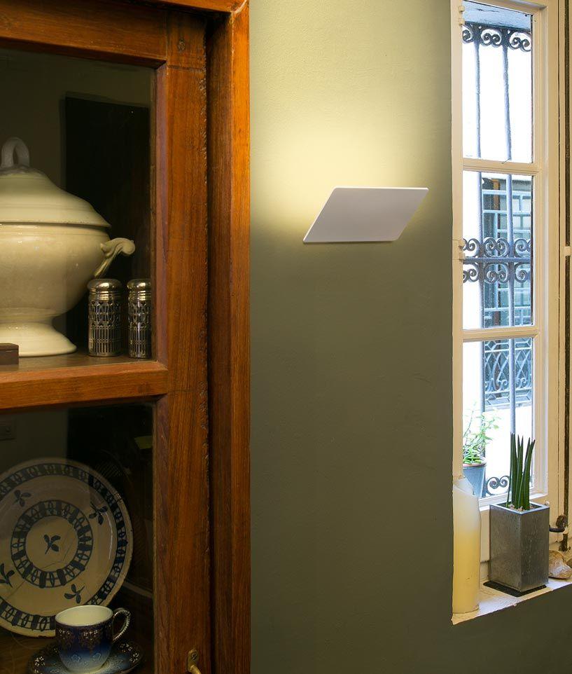 Aplique de pared LED DALLAS blanco ambiente