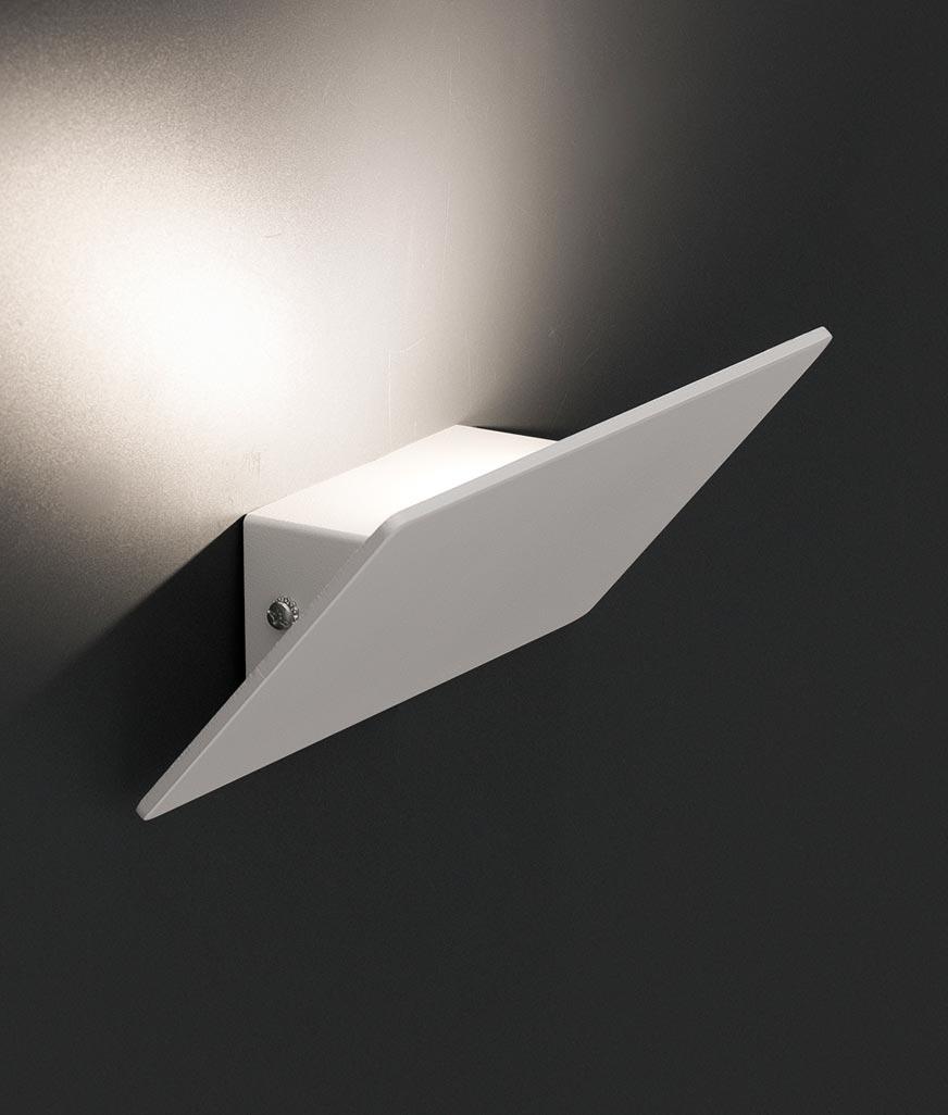 Aplique de pared LED DALLAS blanco detalle 2