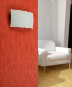 Aplique de pared LIRIA níquel mate ambiente