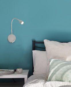 Aplique lector LED blanco LOKE ambiente
