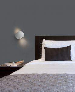 Aplique LED orientable blanco SWING ambiente 2