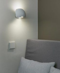 Aplique LED orientable blanco SWING ambiente