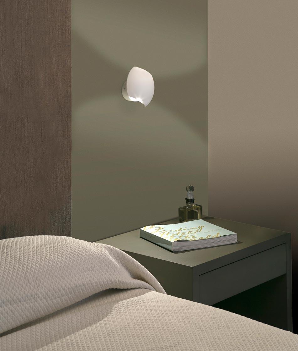 Aplique LED orientable blanco SWING ambiente 3