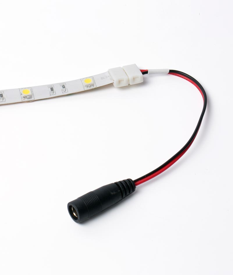 Conector RGB con Jack para tira LED