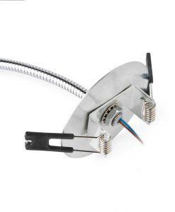 Flexo empotrable LED cromo LOKE detalle