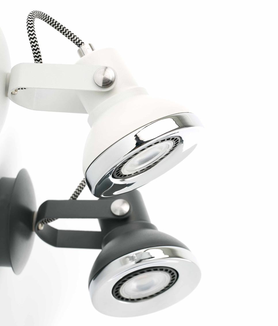 Foco LED RING detalles