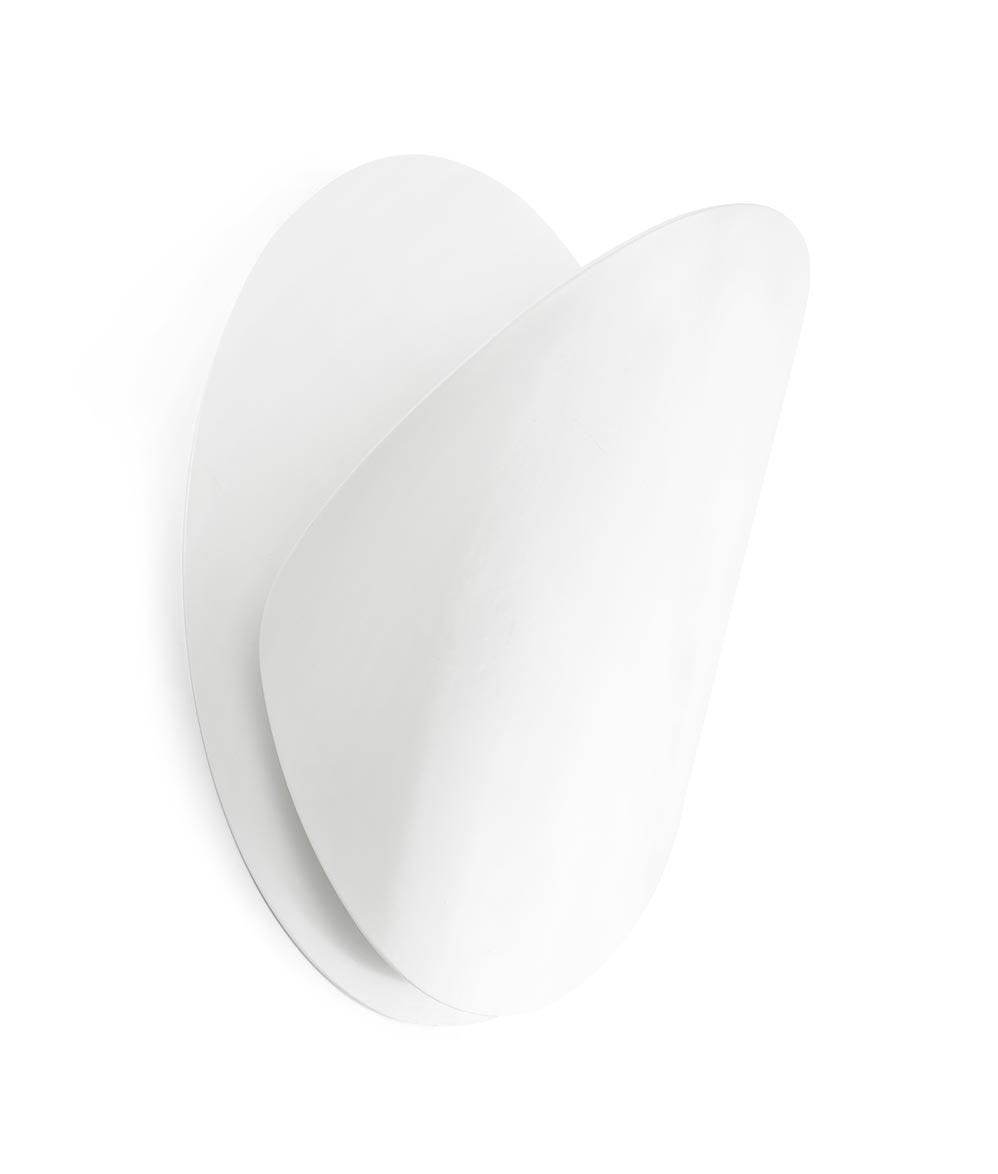 Lámpara aplique blanca grande OVO