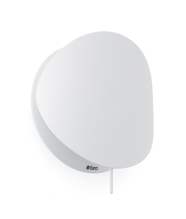 Lámpara aplique blanca pequeña OVO