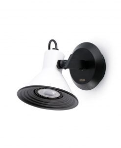 Lámpara aplique blanco 1 luz CUP
