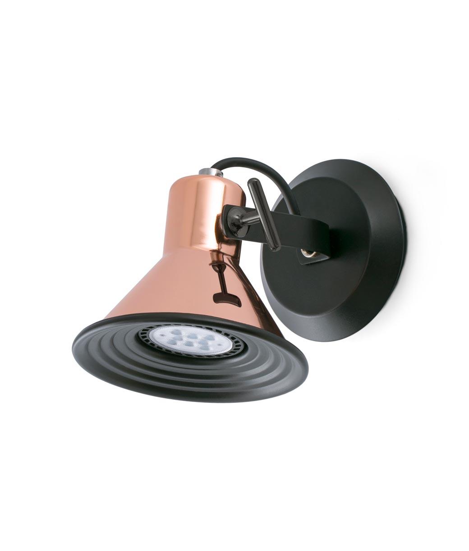 Lámpara aplique cobre 1 luz CUP
