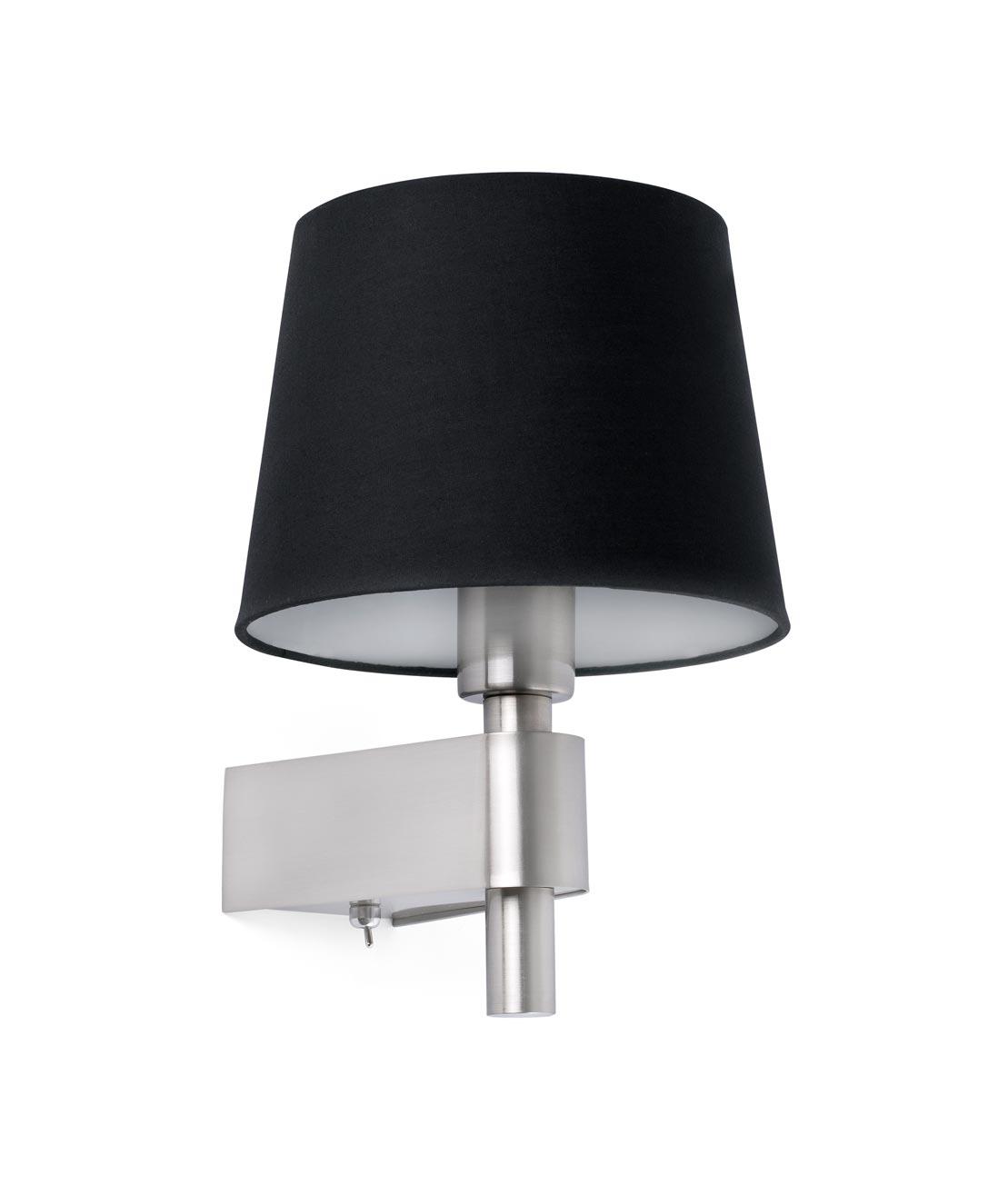 Lámpara aplique negro ROOM