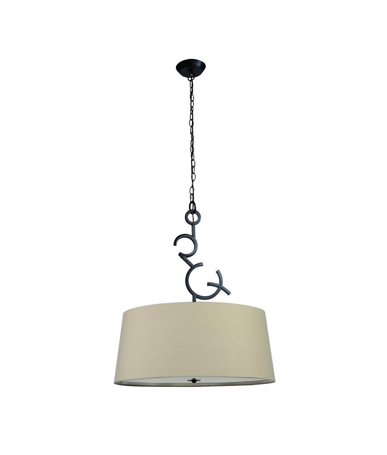 Lámpara colgante ARGI 3 luces
