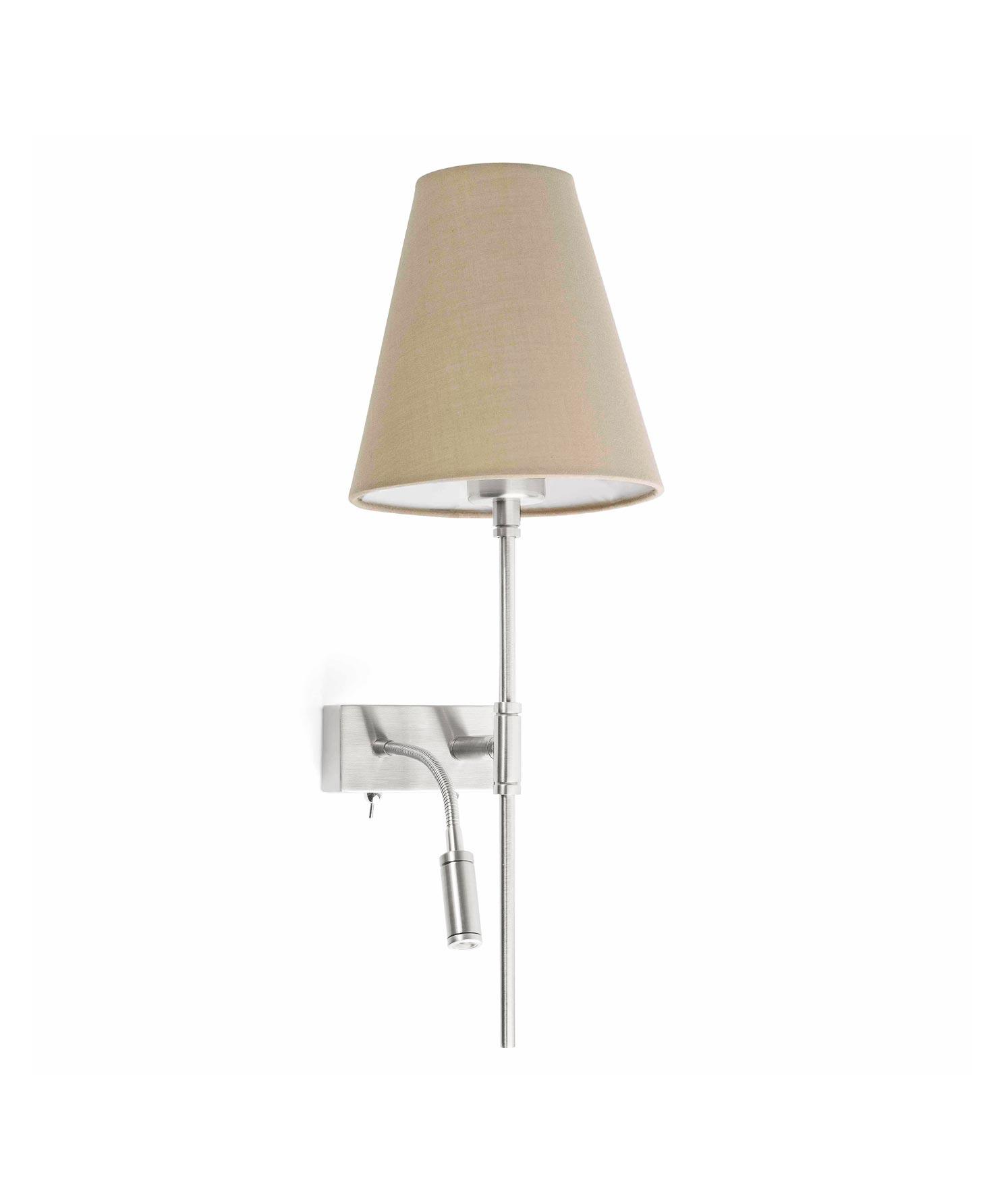 Lámpara con lector LED derecha SABANA