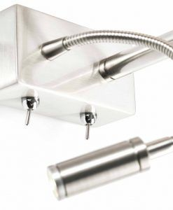 Lámpara con lector LED izquierda SABANA detalle 2