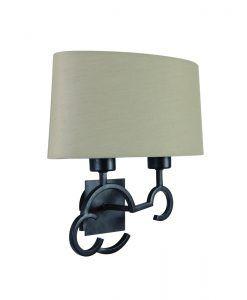 Lámpara de pared 2 luces ARGI