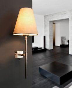 Lámpara de pared beige SABANA ambiente