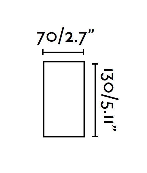 Medidas plafón aluminio pulido SQUAD-3