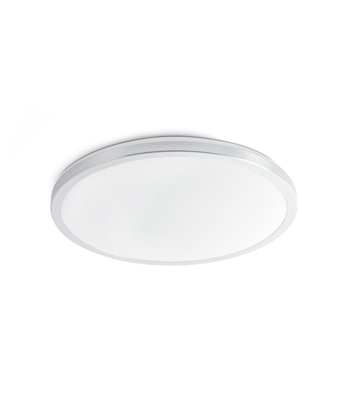 Plafón LED aluminio FORO