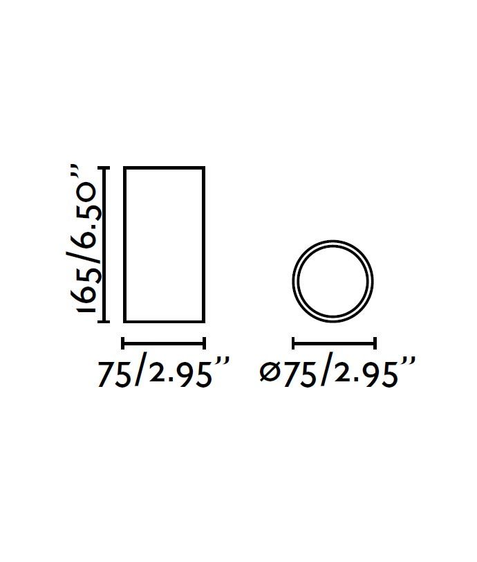 Medidas plafón LED pequeño negro REL