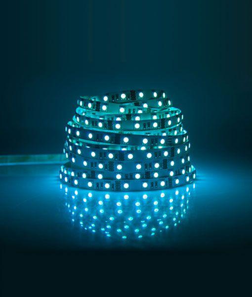 Tira LED RGB 5m autoadhesiva detalle