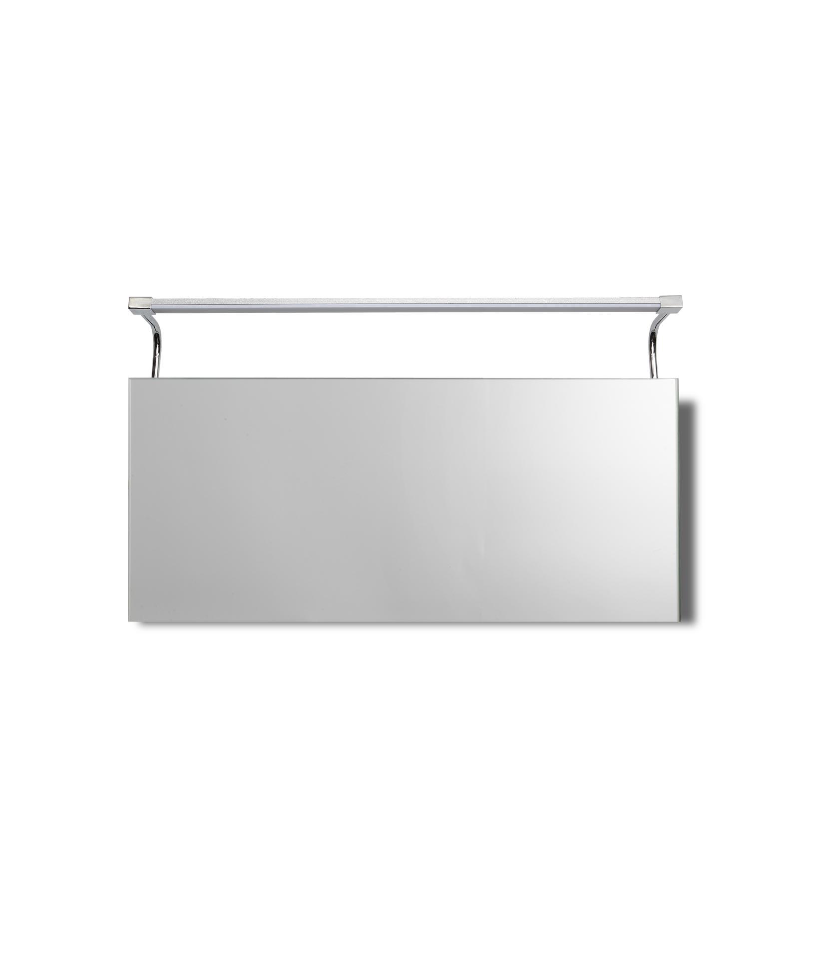 Aplique baño grande SISLEY plata cromo