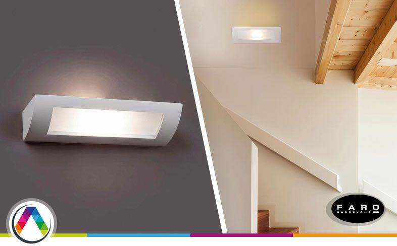 Lámpara aplique moderno CHERAS en La Casa de la Lámpara
