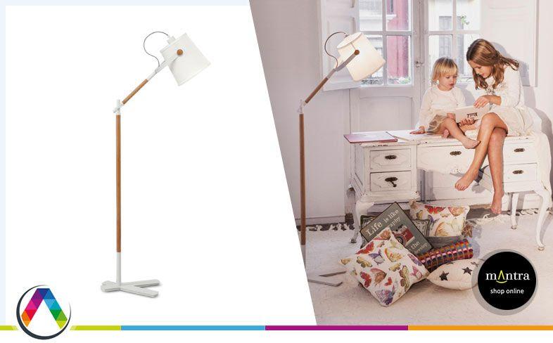 Lámpara de pie NÓRDICA en La Casa de la Lámpara