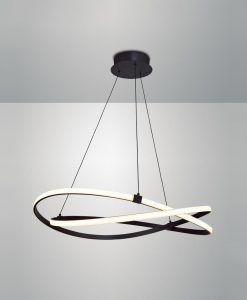 Lámpara de techo grande forja INFINITY