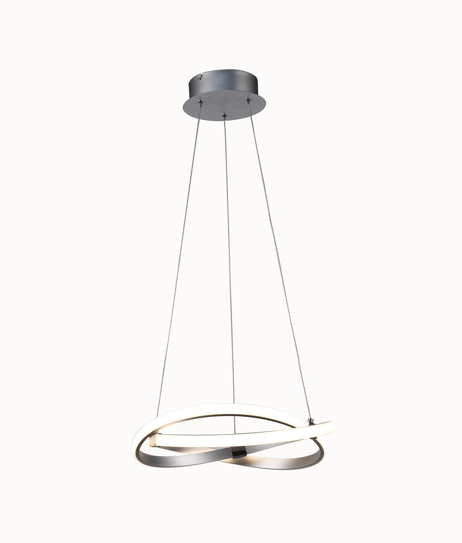 Lámpara de techo pequeña cromo INFINITY