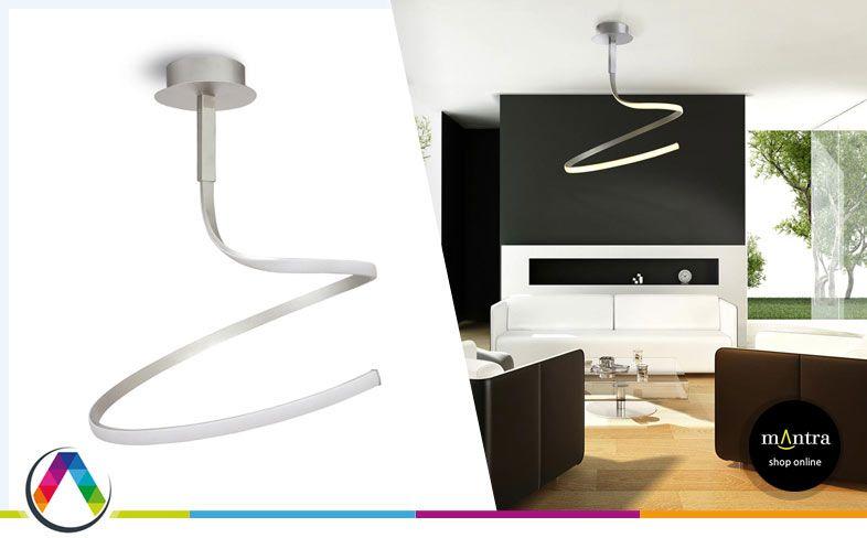 Lámpara LED moderna NUR en La Casa de la Lámpara