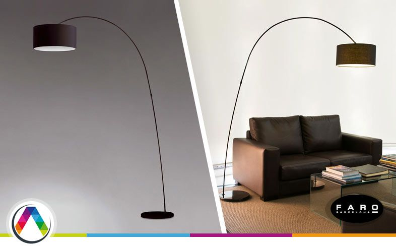 lmpara de pie moderna papua la casa de la lmpara
