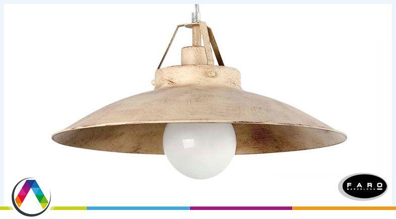 Lámpara rústica TAVERN en La Casa de la Lámpara