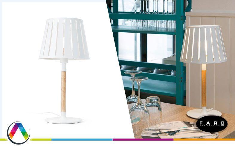 Lámpara de sobremesa moderna MIX en La Casa de la Lámpara
