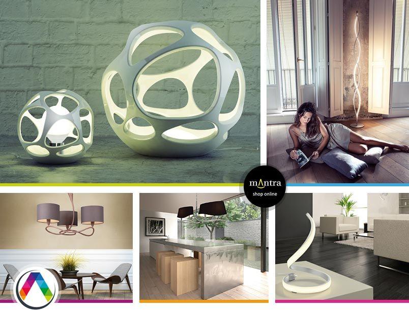 Lámparas de diseño para interior en La Casa de la Lámpara