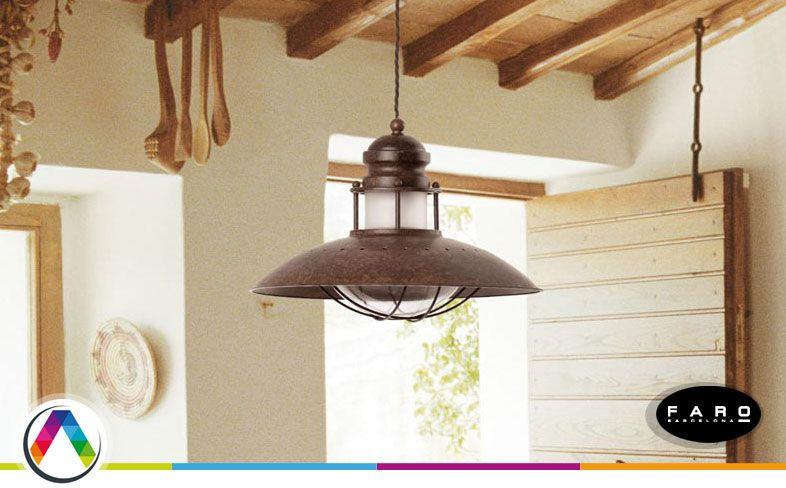 Lámparas rústicas en La Casa de la Lámpara