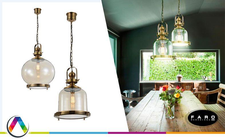 Lámpara modelo vintage de La Casa de la Lámpara