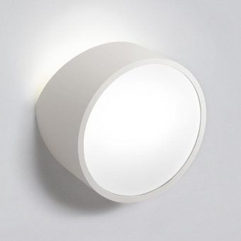 Aplique circular blanco MINI