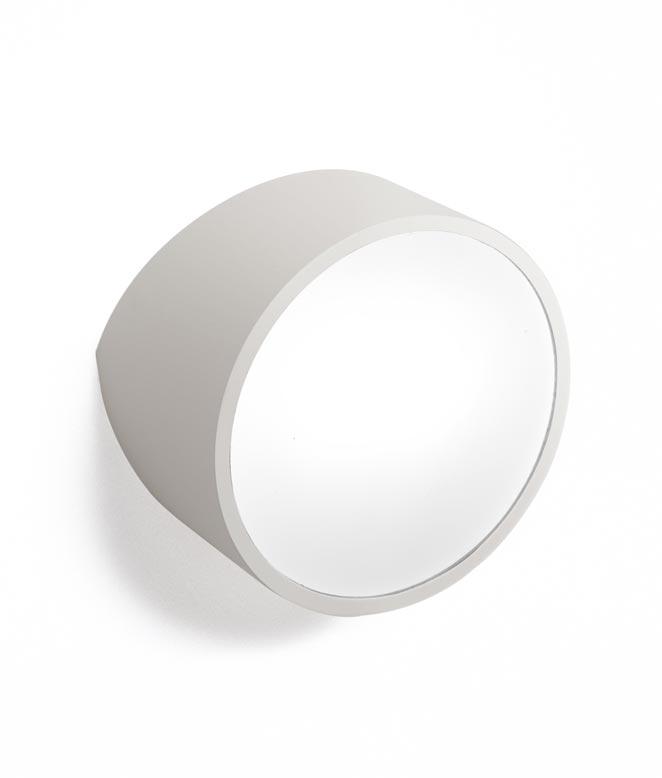 Aplique circular plata MINI