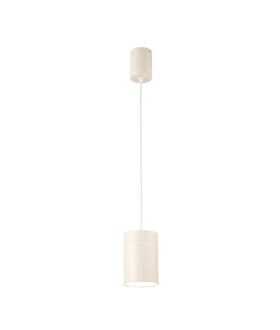 Lámpara colgante grande blanco ARUBA