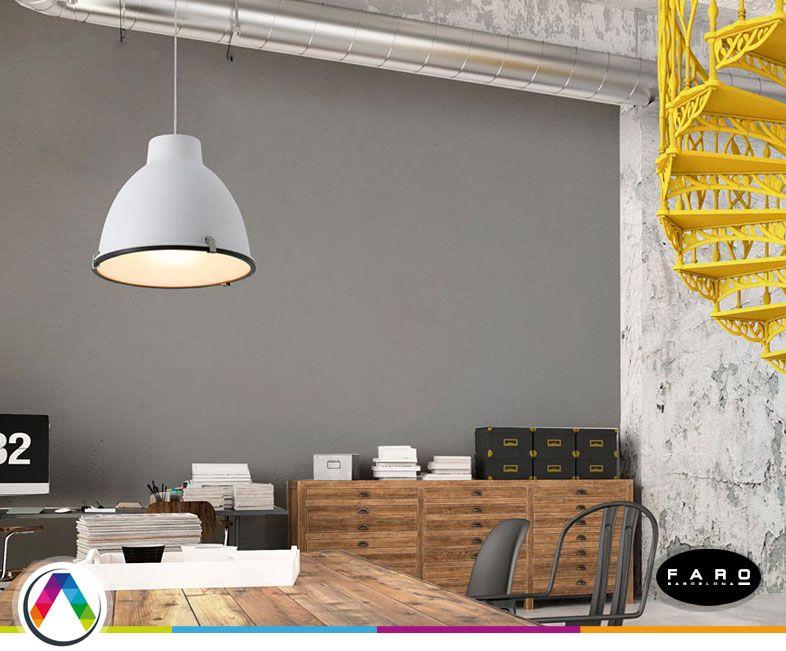 Lámpara colgante industrial CHARLOTTE - La Casa de la Lámpara