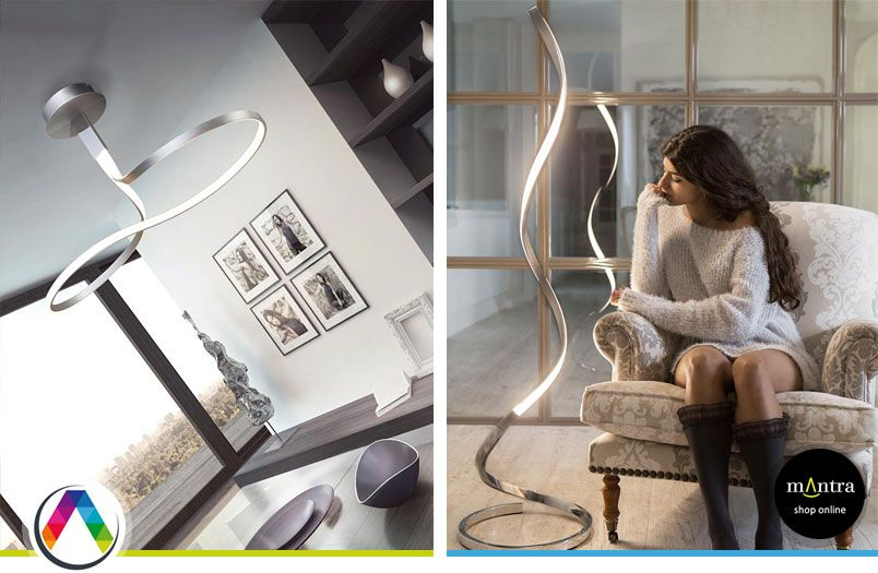 Lamparas Minimalistas En La Casa De La Lampara - Lamparas-minimalistas-de-techo
